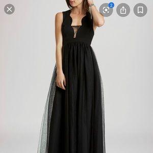 Black prom/gala/wedding dress, size0